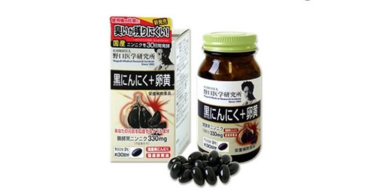 Viên uống tỏi đen Noguchi Meiji