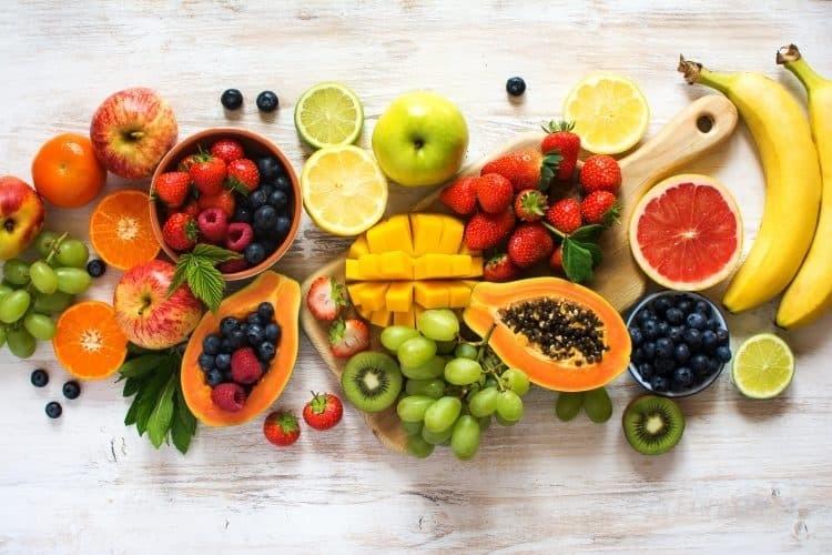 trái cây và rau củ
