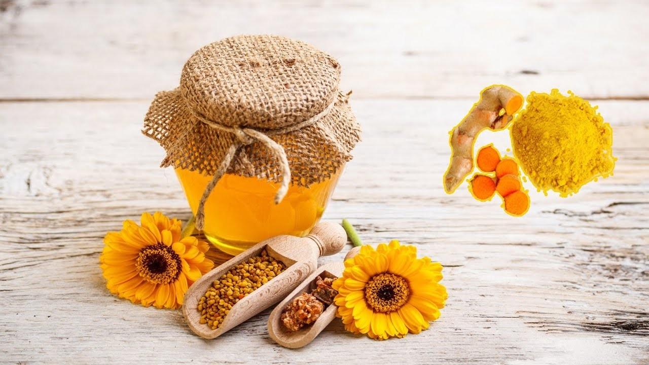 Mật ong và nghệ trị viêm xung huyết hang vị