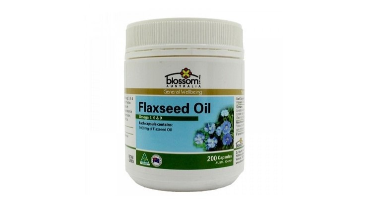 Blossom Flaxseed Oil 1000mg