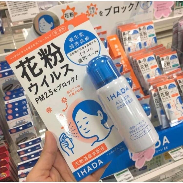Xịt Ihada Shiseido