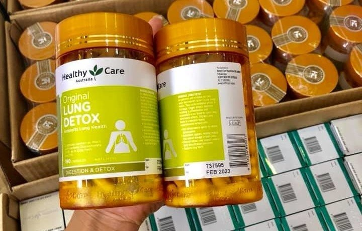 healthy care lung detox, lung detox healthy care, original lung detox, Healthy Care Original Lung Detox 180 capsules, Healthy Care Original Lung Detox review, healthy care lung detox review, lung detox của úc, thuoc lung detox, Healthy Care Original Lung Detox 180 viên, giải độc phổi Healthy Care Original Lung Detox 180 viên