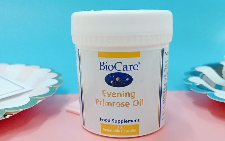 review tinh dầu hoa anh thảo biocare, Biocare Evening Primrose Oil, tinh dầu hoa anh thảo biocare review